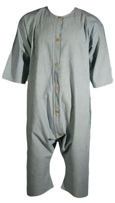 Turn of the Century Union Suit. Easy onsie for M. Maybe elastic at waist or knees?