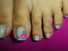 Pedicure Designs, Toe Nail Designs, Pedicure Ideas, Toe Nail Art, Toe Nails, Cute Pedicures, Eyeliner, Manicure And Pedicure, Summer Nails