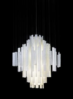 Modern Round Dining Chandelier By Galilee Lighting Contemporary Led White Art