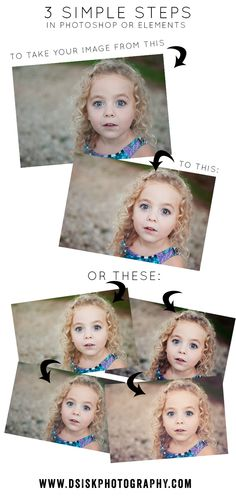 3 Step Edit for Photoshop or Elements – Transform Your Image | DSisk Photography
