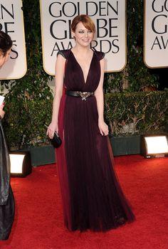 Emma Stone at 69th Annual Golden Globe Awards (2012)