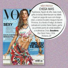 Dia 11/11 estaremos de portas abertas para todos vocês! Estamos muito felizes em poder compartilhar essa notícia. Obrigado @voguebrasil .