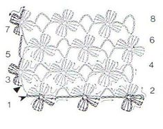 been looking for a simple floral stitch for so long..also to be found in harmony guide & rowan 49..