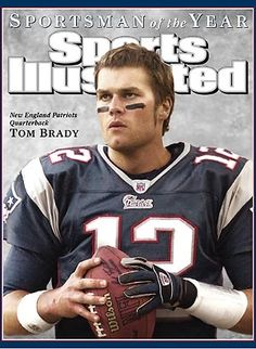 b92ec8e953a3c Tom Brady - Sportsman of the Year Tom Brady Long Hair