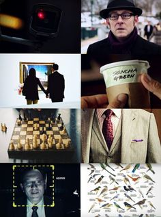 person of interest harold finch quotes - Google Search