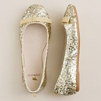 Dear Santa, her life just won't be complete without every pair of ballet flats from Crew Cuts...true story!