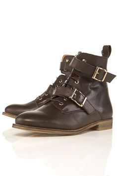 Topshop, Admiral cross strap ankle boot