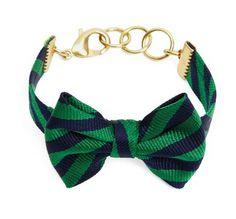 DIY bow tie bracelets