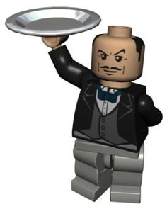 Lego Alfred Pennyworth. I just love his face.