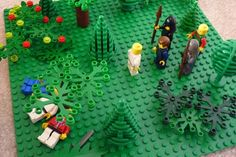 Lego Easter scenes - the betrayal of Jesus: a Lego challenge