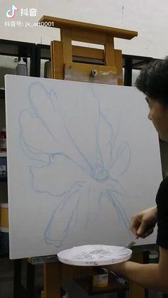 Canvas Painting Tutorials, Diy Canvas Art, Painting Videos, Textured Canvas Art, Textured Painting, Modern Canvas Art, Diy Wall Art, Painting Techniques, Diy Art
