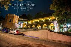 Jesse La Plante Photography | Calvary Church Wedding | Golden, CO | Calvary Church exterior at night
