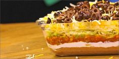 Seven Layer Cannabis-Infused Taco Dip