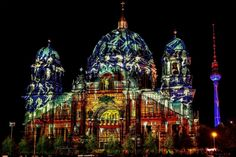 Berlin Cathedral - Festival of Lights 2012 by pingallery.deviantart.com on @DeviantArt
