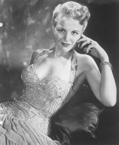 Peggy Lee. One of the greatest and most beautiful women who've ever lived!