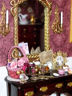 one of the bedrooms in my Victorian dollhouse http://www.facebook.com/media/set/?set=a.104946582867912.10356.100000577111240&type=3