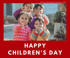 Are you worried about how to raise #successful #kids? You are not alone. All the #parents want their kids to become successful in life but many don't know how to make their kids successful. Are you a parent among them? If yes, this post is for you. #simplylifetips #childrensday Happy Children's Day, Child Day, No Worries, Parenting, Success, Kids, Children, Boys, Raising Kids