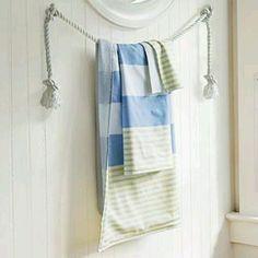 Fun Nautical Towel holder