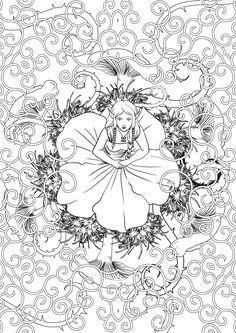 Fées : 100 coloriages anti-stress | nouveauté 2 livres de coloriages, Aux Pays des Merveilles, édition ...