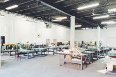 Spending the morning getting inspired with Dustin Yellin at his studio and Pioneer Works. #brooklyn #redhood #pioneerworks #dustinyellin