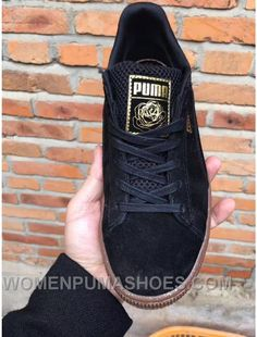 608379b69cc0 Puma Suede Black Rose Women Men New Release 3BKyJhx