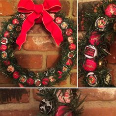 Beer Cap Wreath