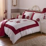 Red Veronique Bedlinen Collection