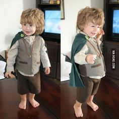 Biblo Baggins Cutest baby costume!!!!