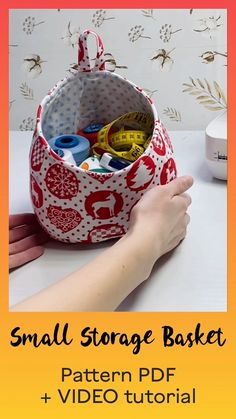 Small Sewing Projects, Sewing For Kids, Sewing Hacks, Sewing Tutorials, Sewing Ideas, Sewing Crafts, Bag Patterns To Sew, Sewing Patterns, Sewing For Beginners