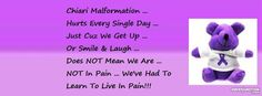 Chiari Malformation Living In Pain EveryDay Facebook Cover