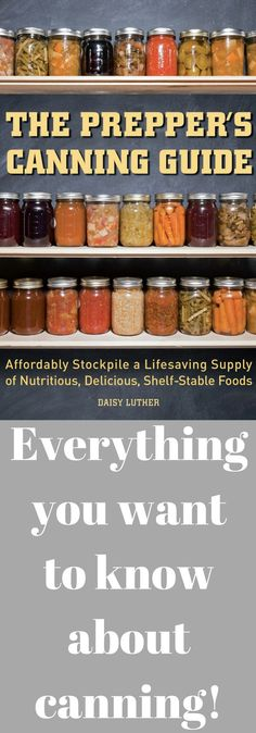 Canning meats, meals, fruit, vegetables. Lots of recipes for water bath canning and pressure canning.