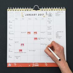The 2020 - 2021 Family Weekly Planner is a week-to-view calendar offering spacious planning and a six column layout for the whole family's activities. Wall Planner, Planner Stickers, Organised Mum, School Forms, Daily Organization, Holiday Dates, Perfect Planner, Grid Layouts, Important Dates