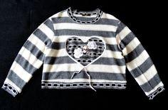 sweater, Design: Julia Brusenzewa Sweater Design, Graphic Sweatshirt, Knitting, Sweatshirts, Sweaters, Fashion, Moda, Tricot, Fashion Styles