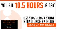 """Our students are leading the charge! """"Stand Against Sitting"""" is a new campaign to encourage office workers, hard-working students, and generally anyone who works around a desk to take periodic """"standing breaks"""" throughout the day. Breaking up extended periods of sedentary time has wonderful health benefits, and can even improve your mood. Stand up for health! Stand against sitting! (Learn more on their website: http://www.standagainstsitting.com/)"""