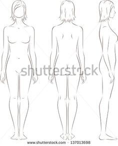 Body Template Images Stock Photos Vectors