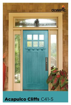 Best exterior paint colours for house teal curb appeal Ideas Paint Colors For Home, House Exterior, House Paint Exterior, French Doors Exterior, Curb Appeal, Front Door, House Painting, Door Paint Colors, Exterior Paint Colors For House
