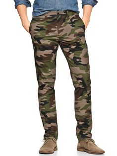 """Lived-in slim camo pant. I have pants similar, but in """"swamp"""" colors"""