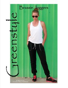 Greenstyle Brassie Joggers PDF Sewing Pattern by GreenStyleCreations on Etsy https://www.etsy.com/listing/240741683/greenstyle-brassie-joggers-pdf-sewing