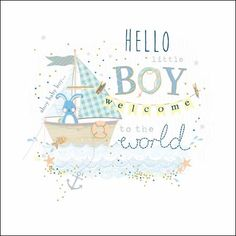 Welcoming a new baby boy to the world? Congratulate them with one of our NEW special occasions cards
