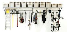 Monkeybar storage shelve