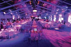 Turn it on with lighting. Photo: EventQuip