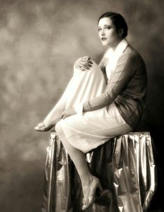 Joan Crawford photographed by Ruth Harriet Louise in 1926.