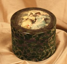 celluloid boxes | 254] Victorian Celluloid Dresser Collar Box ED615
