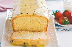 Passion fruit Cake.