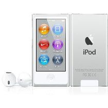 NEWEST MODEL Apple Ipod Nano 7th Generation Silver 16 GB Includes Apple Earpods and USB Cable - Non Retail Packaging $139.99 @ www.idealzshopping.com