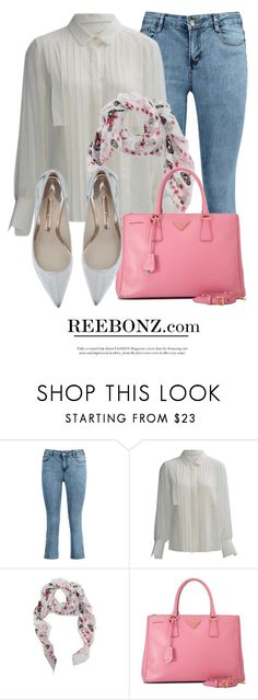 """Pink Bag"" by monmondefou ❤ liked on Polyvore featuring Alexander McQueen, Prada, Pink and reebonz"