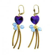 Boucles d'oreilles Cabaret  Cabaret earrings