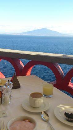 Breakfast time in Sorrento