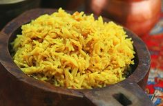 Turmeric Rice (v)