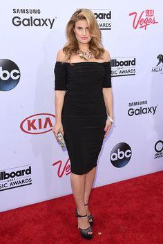 2015 Billboard Music Awards –Idina Menzel in Badgley Mischka